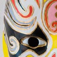 Masques de l'Opéra de Pékin