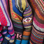 Châles en coton tissés à la main - Thaïlande